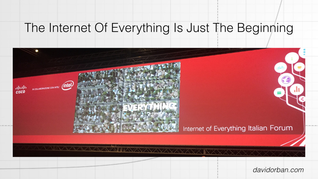 Internet Of Everything is Just the Beginning