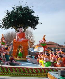 large buddhist statue
