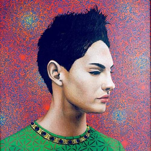 Santa Ana, 1995. Acrílico sobre lienzo. 62 x 45