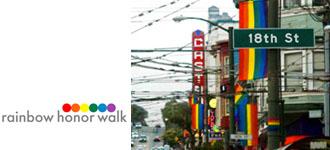 Rainbow Honor Walk