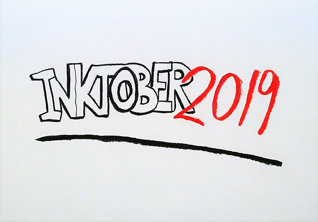 Getting Ready for Inktober 2019