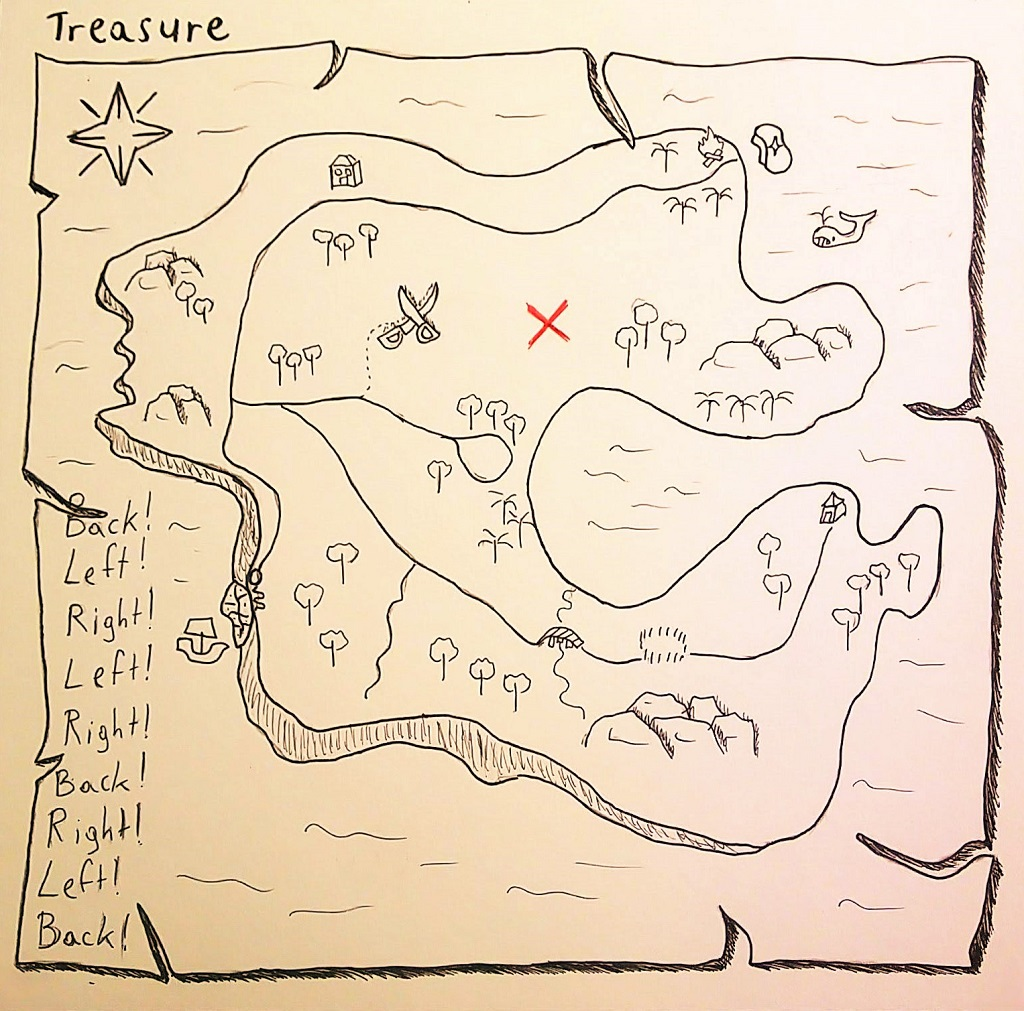 Treasure (Inktober 2019 – Twenty One)