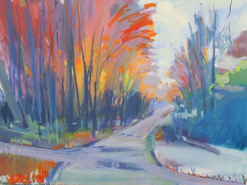 Late Autumn Twilight