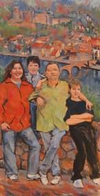 Family portrait - commission a family portrait