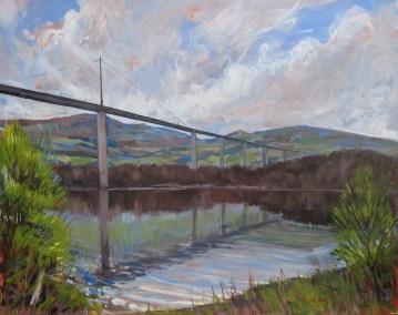 Landscape art commission - a bridge in Scotland