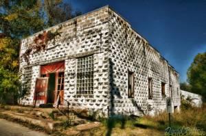Calico Rock Block Building T W
