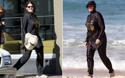 Momenti diversi a confronto durante l'uso dell'abito