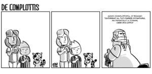 La vignetta di Vincenzo contro i complottisti e il loro sciacallaggio