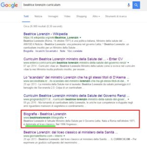 ricerca-google-lorenzin-cv