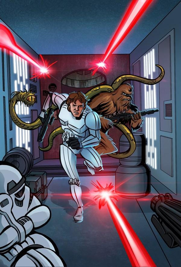 Star Wars Art David Rabbitte