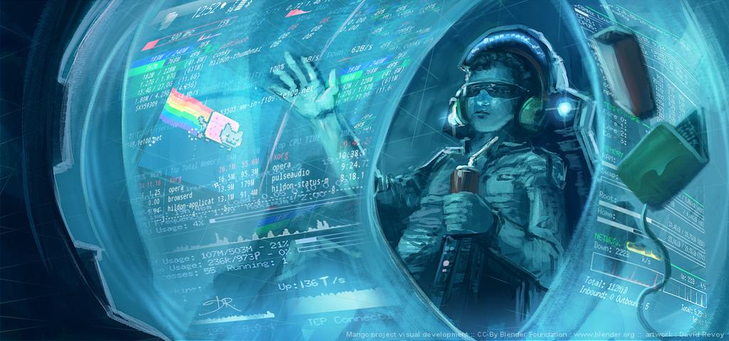 Cybernetic Girls Hd Wallpaper Tears Of Steel David Revoy