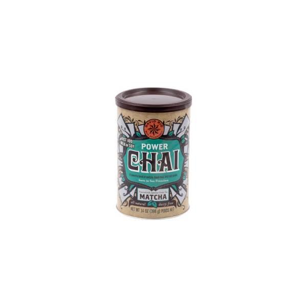 Power Chai Matcha Vegano Sin Lacteos David Rio