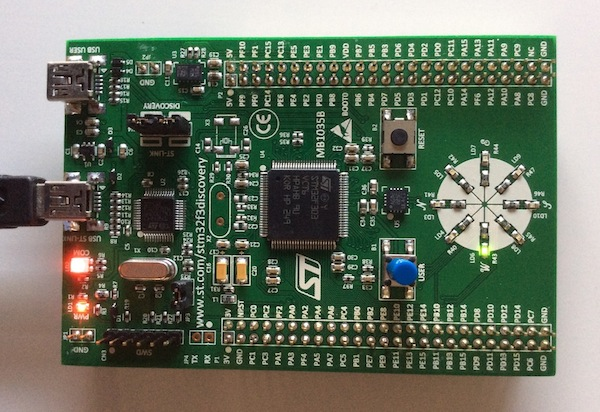 stm32f3discovery