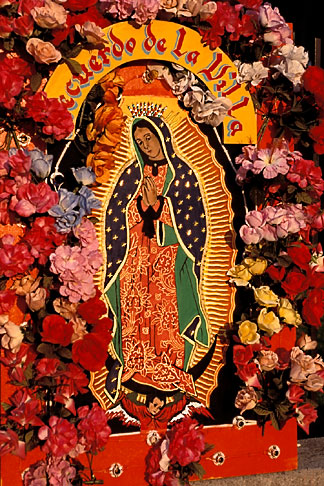 Aztec Print Wallpaper Hd Mexican Art Floral Display For The Virgin Of Guadalupe