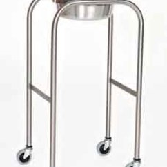 Wheel Chair Dimensions Covers Qatar Single Basin Solution Stand With H-brace, 8.5 Qt. Capacity
