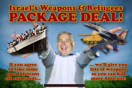 israel expels african refugees