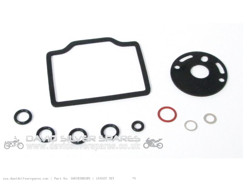 Honda CB750K2 FOUR 1972 USA Carburettor gasket set for one