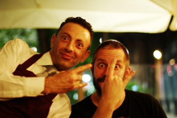 David og kelner
