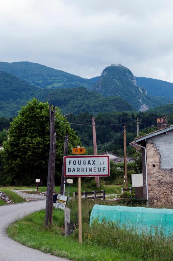 aFørste glimt av Montsegur