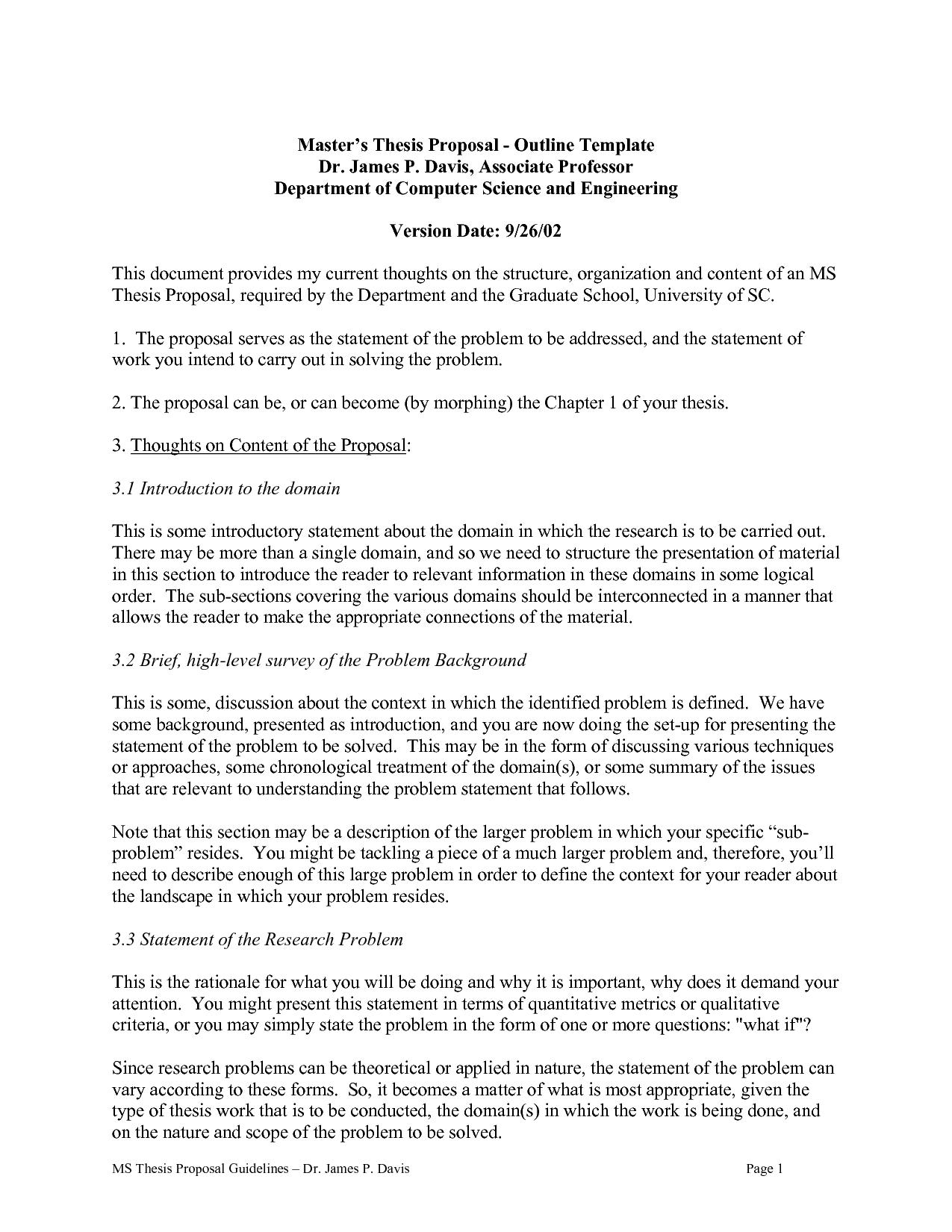 Informal Essay Outline Sample College Informal Outline For Essay