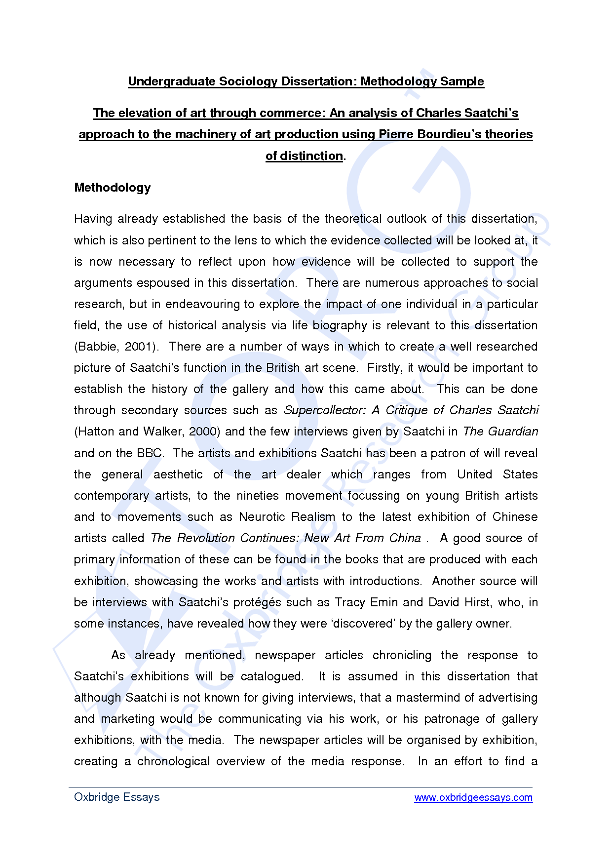 Essay Methodology Different Essay Formats Example Of A Good Research