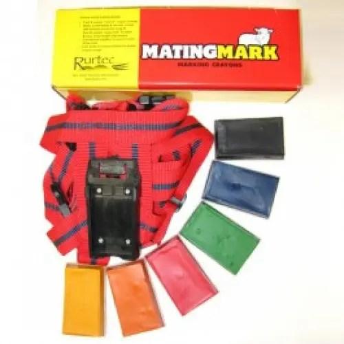 MATING MARK RAM CRAYON RED -3954
