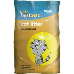 BESTPETS WOOD CAT LITTER 30L-0