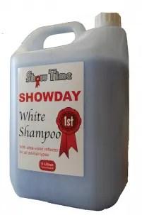SHOWTIME SHOWDAY WHITE SHAMPOO 4L-0