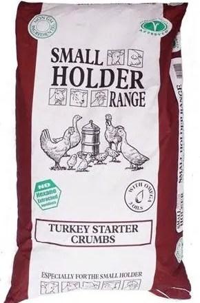 ALLEN & PAGE TURKEY STARTER CRUMB 20KG-0