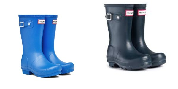 HUNTER KIDS ORIGINAL WELLINGTON BOOTS-0