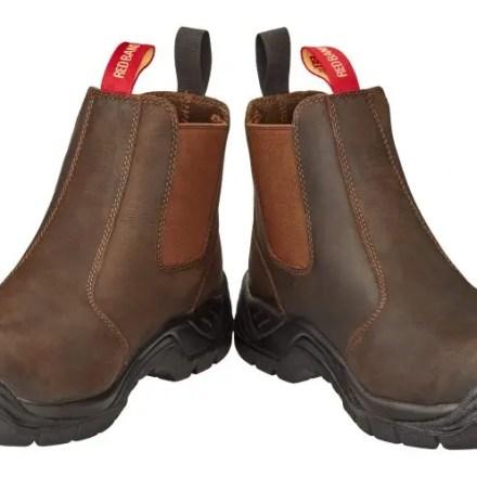 SKELLERUP RED BAND DEALER BOOTS SAFETY TOE-0
