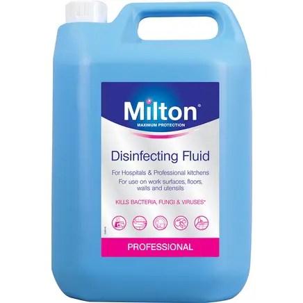 MILTON STERILISING FLUID 5L-0