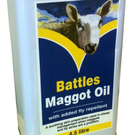 BATTLES MAGGOT OIL-0