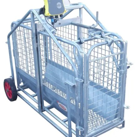 RITCHIE ELECTRONIC 664 LAMB WEIGHER C/W TRUTEST EAZIWEIGH 5i READER-0