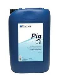 BATTLES PIG OIL 25L-0