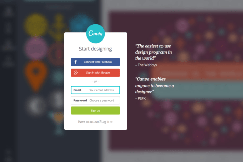 canva.com screenshot