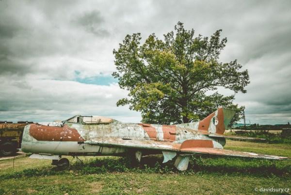 Muzeum letecké a pozemní techniky Vyškov David Surý