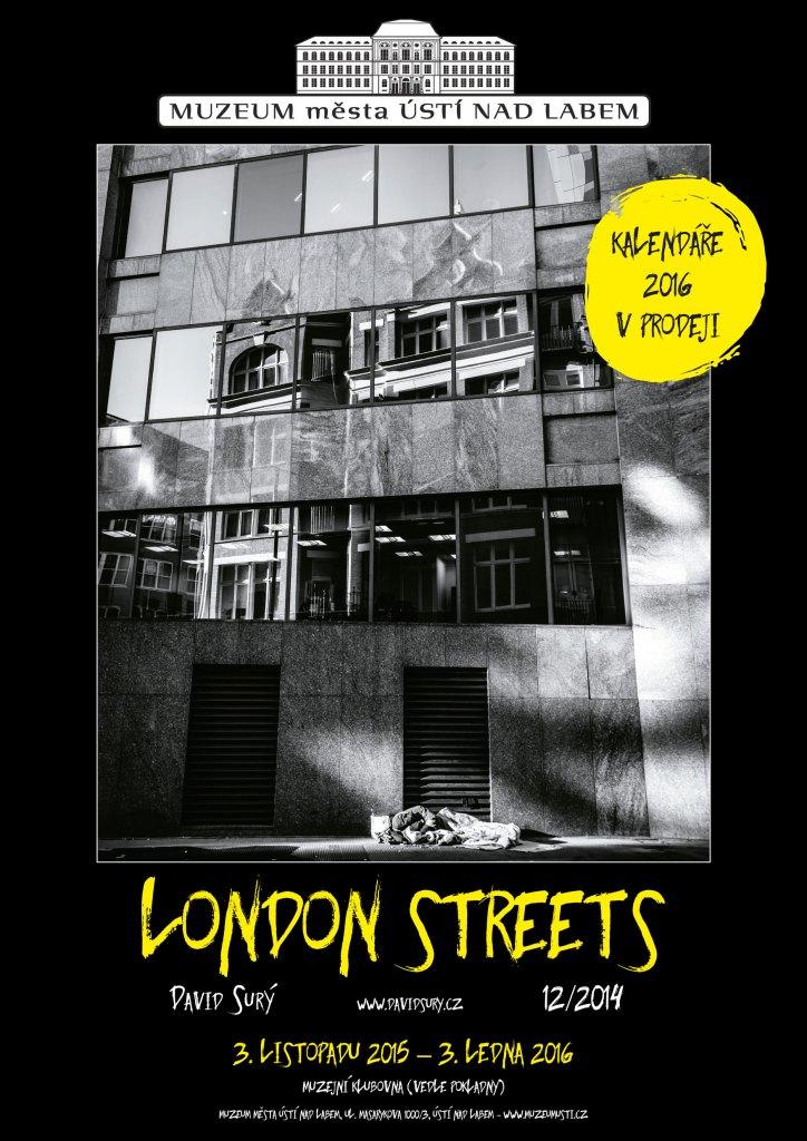 Plakát London street 2016