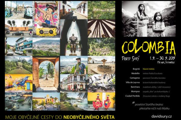 David Surý fotografická výstava – Moje obyčejné cesty do neobyčejného světa Kolumbie / Colombia Fér kafe, Litoměřice
