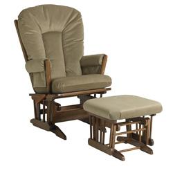 Glider Chair Ottoman Set