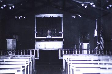 Attu, Alaska - Chapel Interior