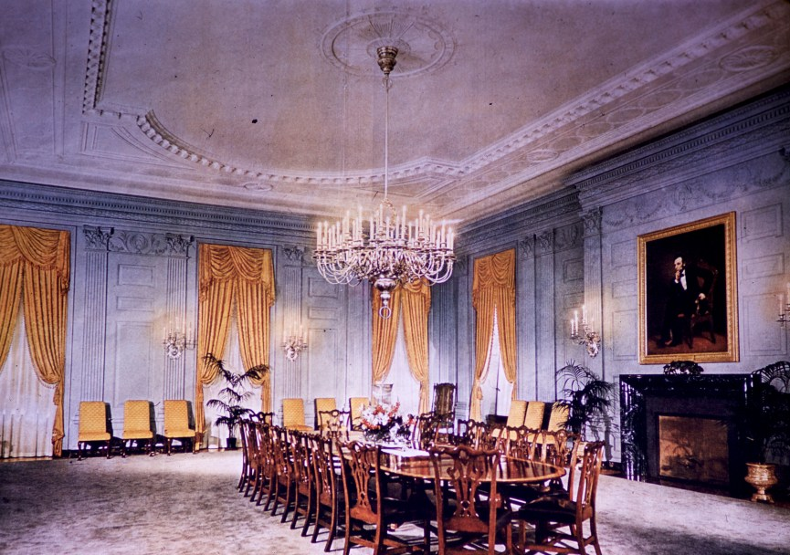 White House - State Dining Room After Restoration