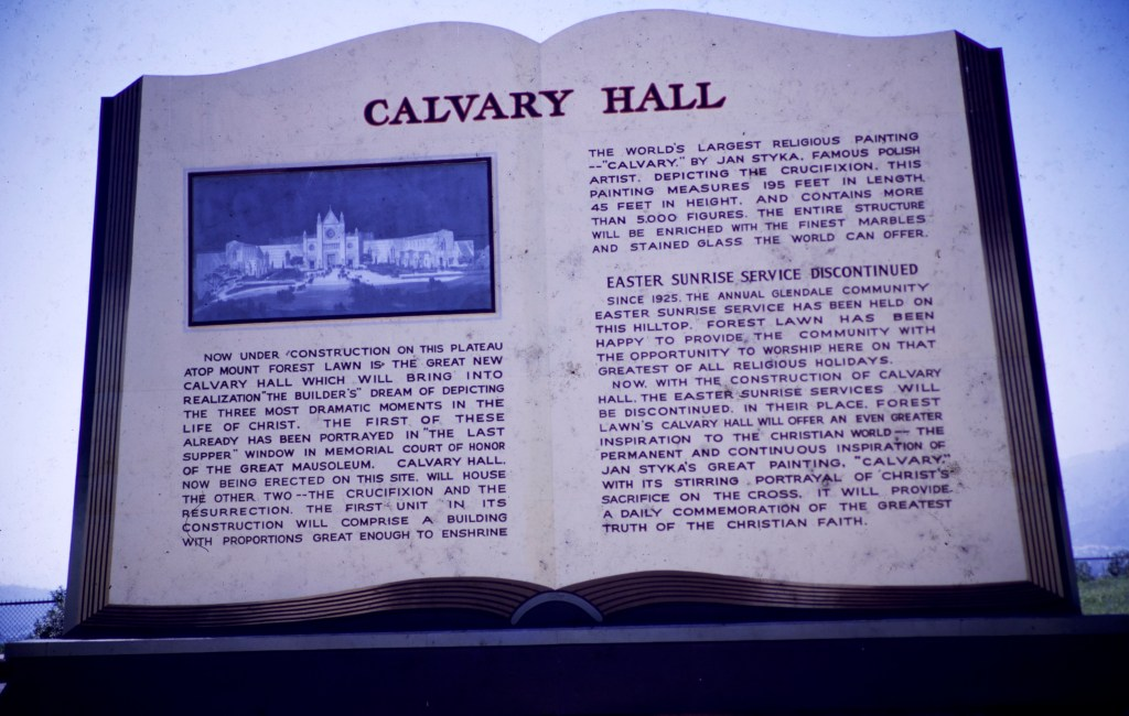 Forest Lawn – Calvary Hall