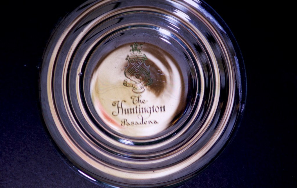 Huntington Library and Art Gallery – Ash tray