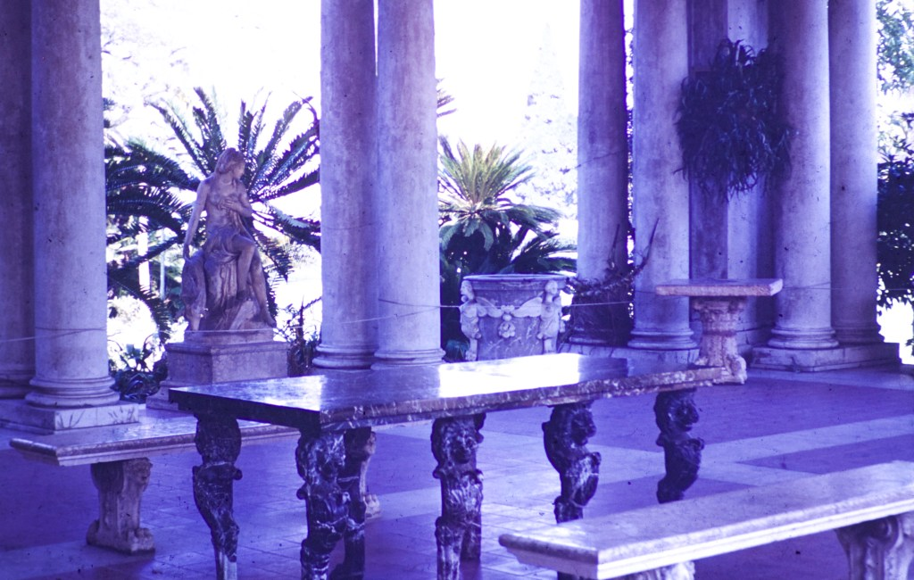 Huntington Library and Art Gallery – Inside Portico