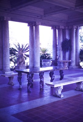 Huntington Library and Art Gallery - Inside Portico