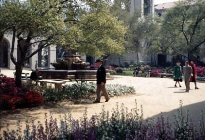 Pasadena City Hall - Garden