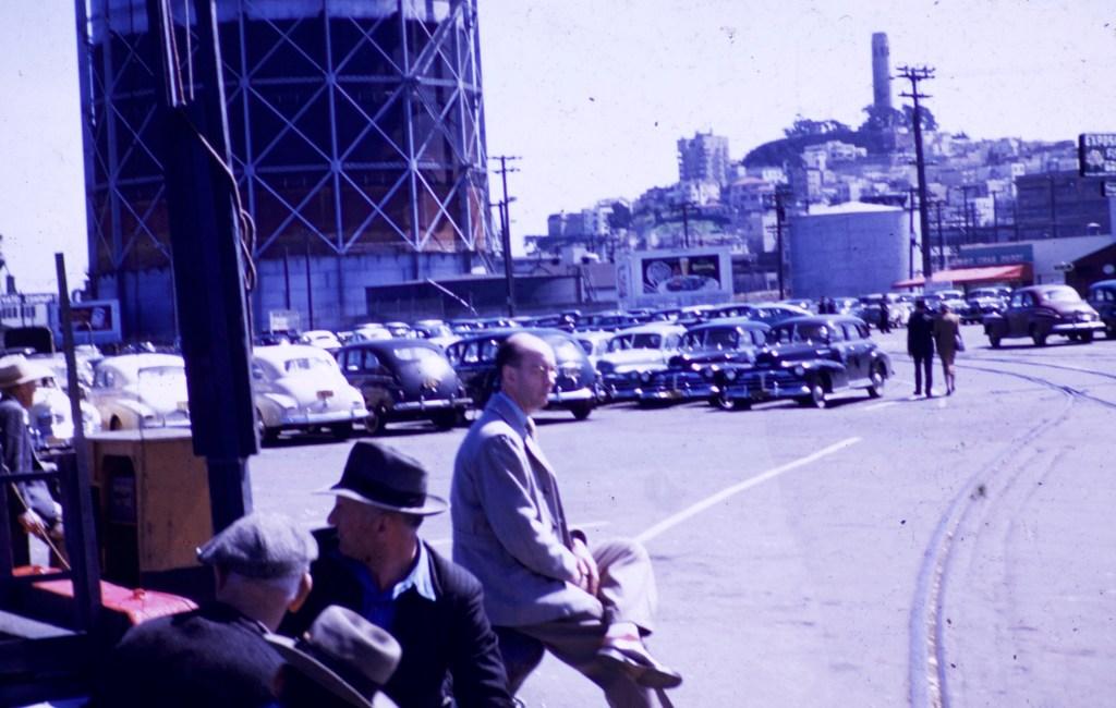 San Francisco – View Coit Tower – Wharf