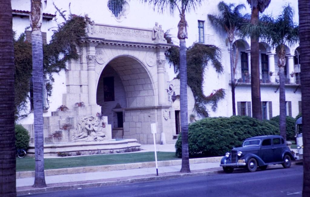 Santa Barbara – Main Entrance – County Courthouse