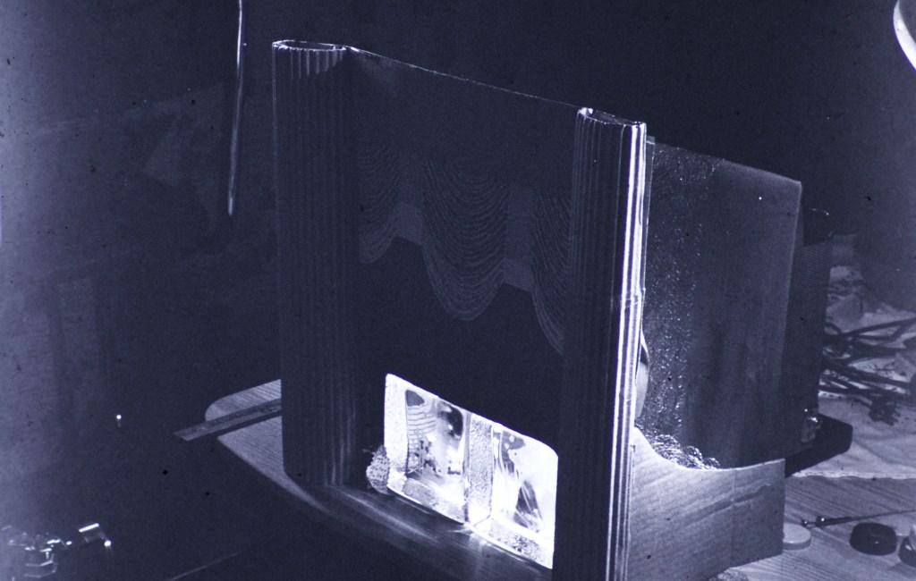 "Terrible Slides – Backstage of ""Water Ballet"" Tabletop"